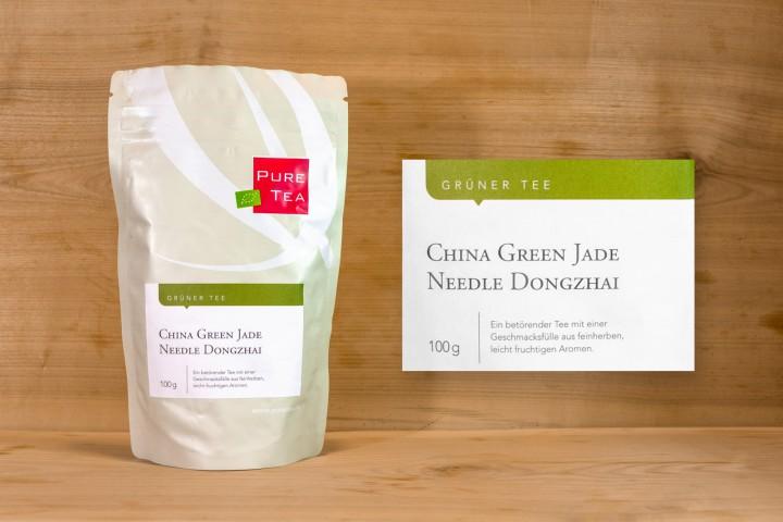 Pure Tea - China Green Jade Needle Dongzhai 100g