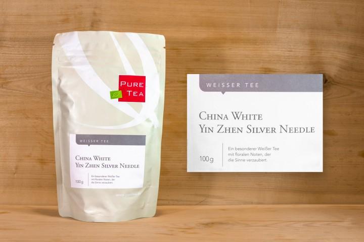 Pure Tea - China White Yin Zhen Silver Needle 100g