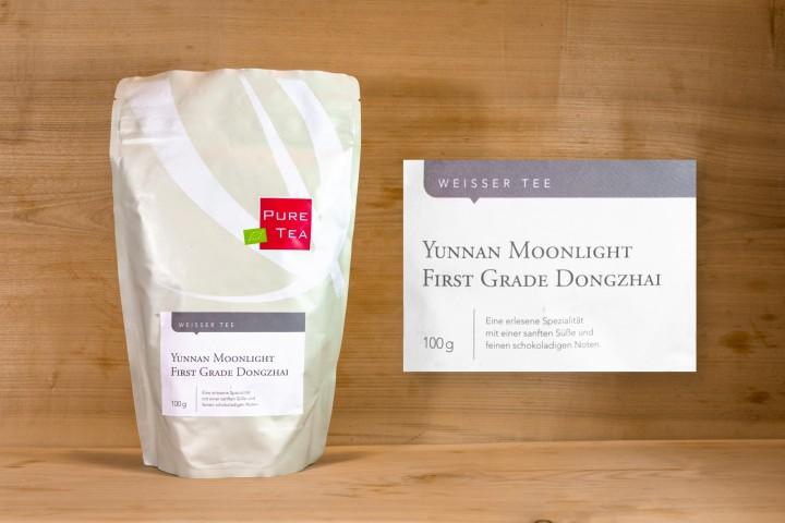 Pure Tea - Yunnan Moonlight First Grade Dongzhai 100g