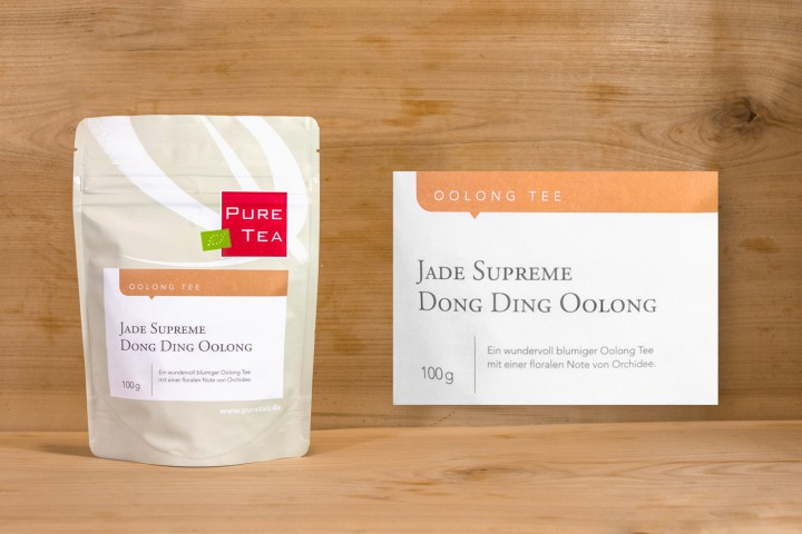 Pure Tea - Jade Supreme Dong Ding Oolong 100g
