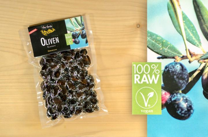 Oliven Classic 100% Rohkost 200g