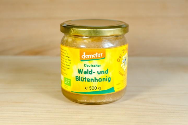 Deutscher Wald- und Blütenhonig 500g
